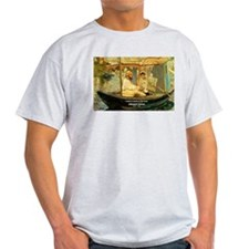 French Painter Manet Quote Ash Grey T-Shirt