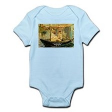 French Painter Manet Quote Infant Creeper