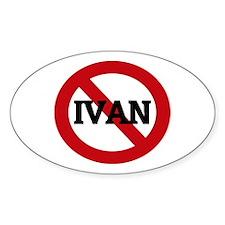 Anti-Ivan Oval Decal