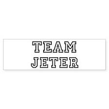 Team Jeter Bumper Bumper Sticker