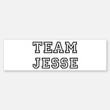 Team Jesse Bumper Bumper Bumper Sticker