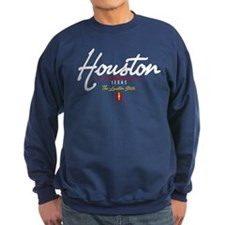 Houston Script Sweatshirt