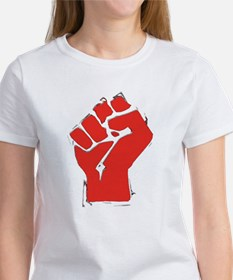 Raised Fist Women's T-Shirt