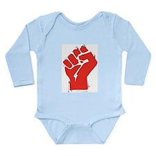 Raised Fist Onesie Romper Suit