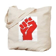 Raised Fist Tote Bag