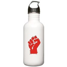Raised Fist Water Bottle