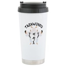 Taekwondo Stainless Steel Travel Mug