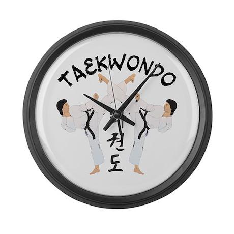 Taekwondo Large Wall Clock