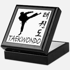 Taekwondo Keepsake Box