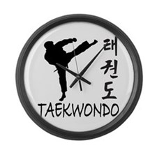 Taekwondo Large Wall Clock