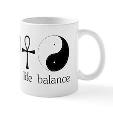 Peace Love Life Balance Small Mug