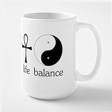 Peace Love Life Balance Mug