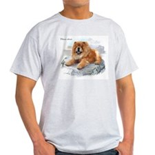 Chow Chow Ash Grey T-Shirt