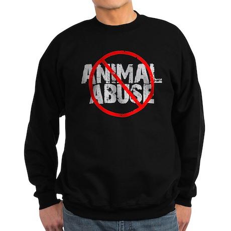 No Animal Abuse Sweatshirt (dark)
