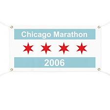 2006 Chicago Marathon Banner