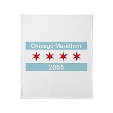 2005 Chicago Marathon Throw Blanket