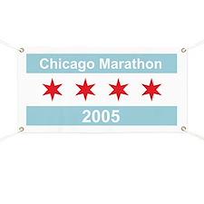 2005 Chicago Marathon Banner