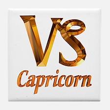 Capricorn Zodiac Gifts Tile Coaster