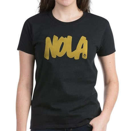 NOLA Brushed Women's Dark T-Shirt