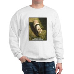 Panda Bear Photo Sweatshirt