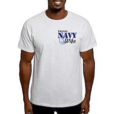 Proud Navy Wife T-Shirt