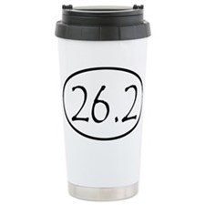 Marathon Distance 26.2 Miles Travel Mug