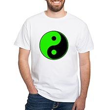Green-Black Yin Yang Shirt