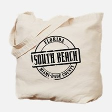 South Beach Title Tote Bag