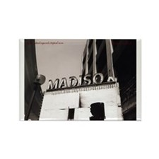 Madison Theater Rectangle Magnet