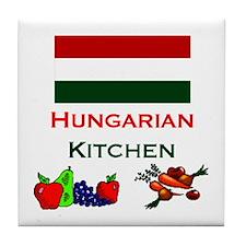 Hungarian Kitchen Tile Coaster