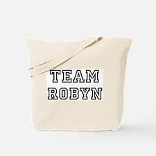 Team Robyn Tote Bag