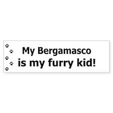 Bergamasco Furry Kid Bumper Bumper Sticker