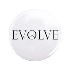 "Evolve Peace Perpetua 3.5"" Button"