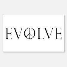 Evolve Peace Perpetua Decal