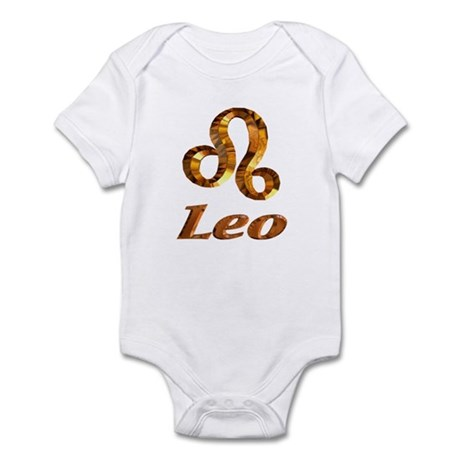 Leo Zodiac Gifts Infant Creeper