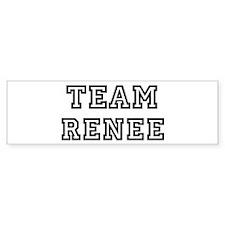 Team Renee Bumper Bumper Sticker