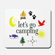 Let's go camping! Mousepad