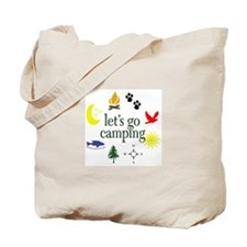 Let's go camping! Tote Bag