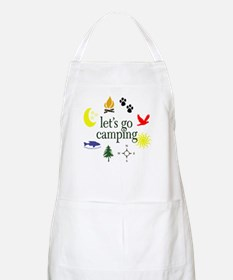 Let's go camping! BBQ Apron