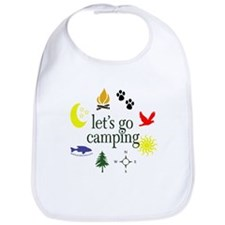Let's go camping! Bib