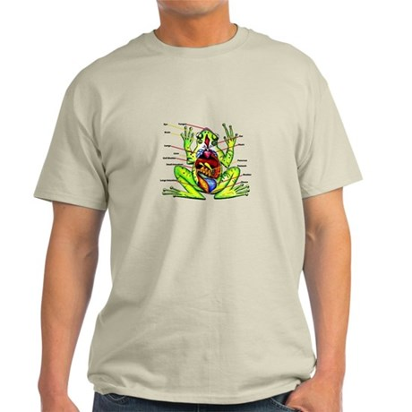 Frog Anatomy Light T-Shirt