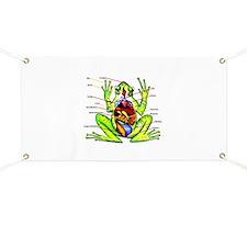 Frog Anatomy Banner