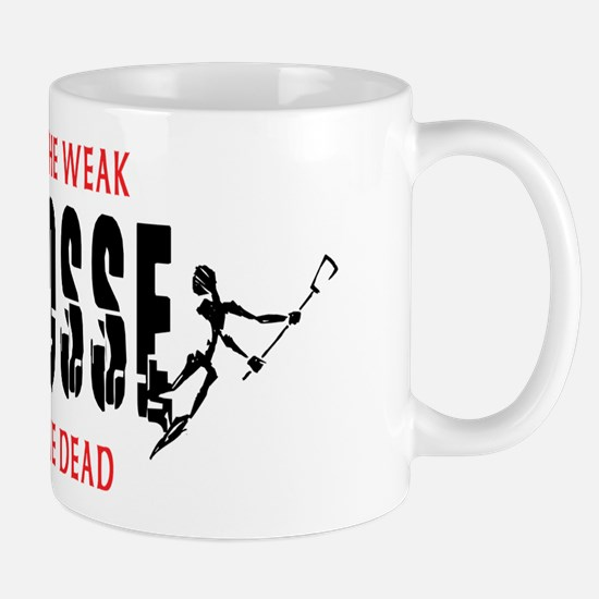 Trample The Weak Lacrosse Mug