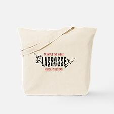 Trample The Weak Lacrosse Tote Bag