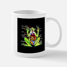 Frog Anatomy Mug