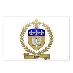 LAGACE Family Crest Postcards (Package of 8)