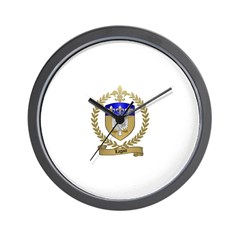 LAGACE Family Crest Wall Clock