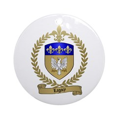 LAGACY Family Crest Ornament (Round)
