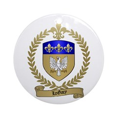 LEGACY Family Crest Ornament (Round)