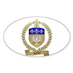 LEGACY Family Crest Oval Sticker